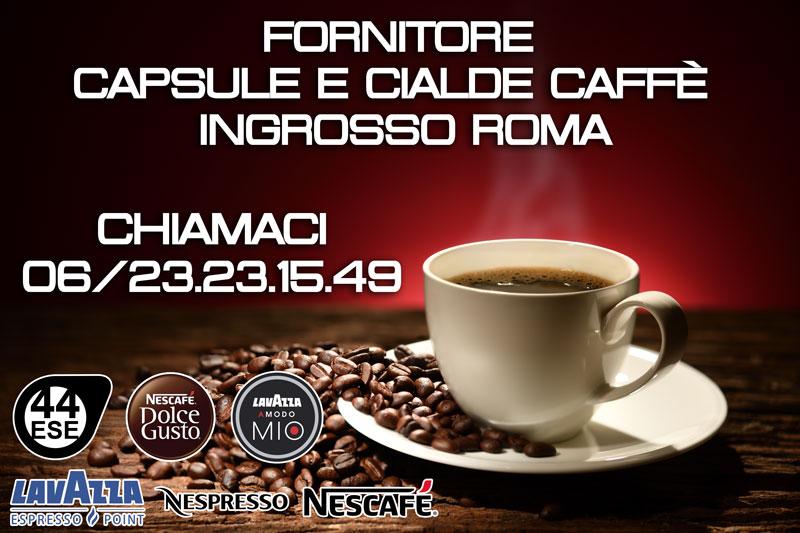 Fornitore Ingrosso Capsule e Cialde Caffè Roma